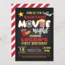 movie birthday invitation