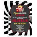 movie party movie night birthday invitation