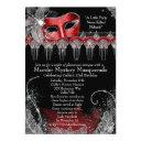 murder mystery masquerade invitation