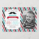 mustache little man birthday party invitations