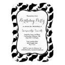 mustache themed birthday invitations