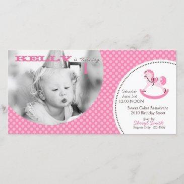 my little pony invitation photo invitations