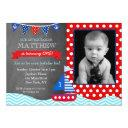 nautical sailboat chalkboard birthday invitation