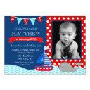 nautical whale birthday party invitations