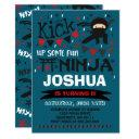 ninja birthday invitations karate birthday party