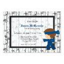 ninja birthday theme invitation