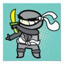 ninja invitations
