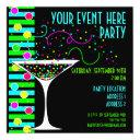 party confetti cocktail invitations