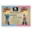 pirate boys birthday invitations