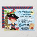 pirate party birthday invitations