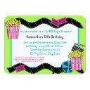 popcorn and a movie invitations
