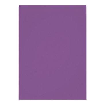 Small Purple And Gold 70th Birthday Diamond Invitation Back View