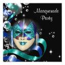 quinceanera masquerade mask personalize invitation