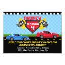 race car birthday invitations invitations