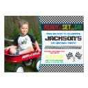 race car birthday invitations | racing invitations