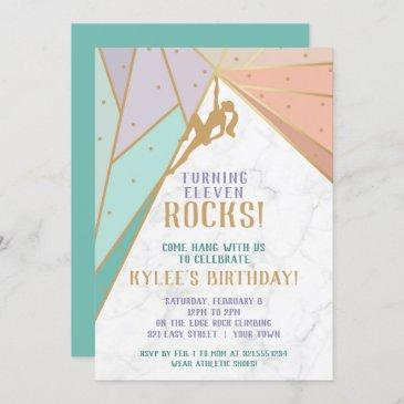 rock climbing invitation