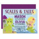 scales and tails invitations