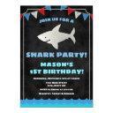 shark birthday invitations baby shark