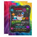 slime time primary rainbow birthday party invitati invitation
