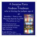 slot machine birthday party winner invitations
