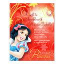 snow white birthday invitations