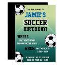 soccer themed birthday invitations