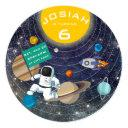 solar system birthday party invitation