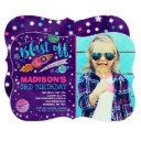 space birthday invitations outer space party
