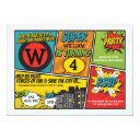superhero invitation super hero party invite