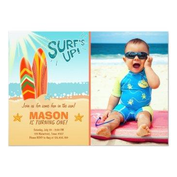 surfing birthday invitations surf's up beach party