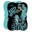 surprise birthday invitation, classy girl's party invitation