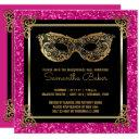 sweet 16 masquerade ball sweet sixteen pink gold invitations