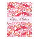 sweet 16 sixteen candy collection in pink invitation
