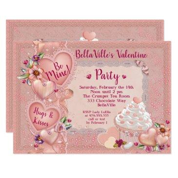 sweetheart valentine's day party invitation