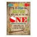 the big one fishing theme boys first birthday invitations
