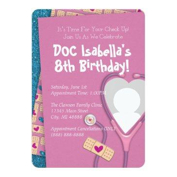the doc is in birthday invitation