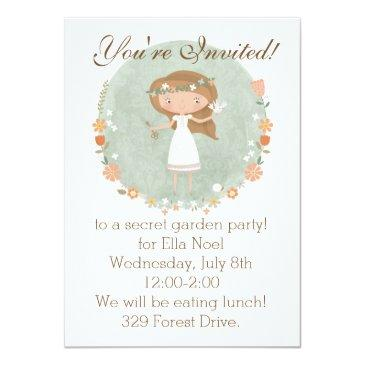 the secret garden party invitation