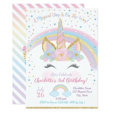 unicorn birthday , unicorn party invite