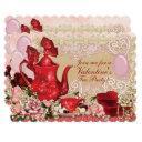 valentine sweetheart tea party invitation