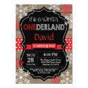 winter onederland 1st birthday invitation